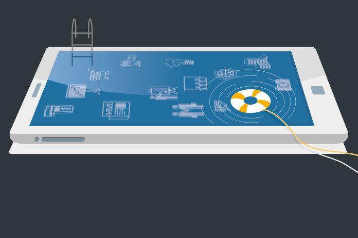 Smart phone image: Digital partnerships in pharma