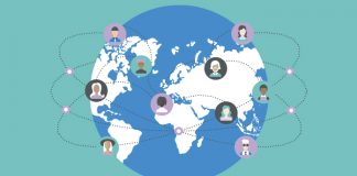 World networking showing how LinkedIn and the ABPI Code of Practice work together to connect professionals