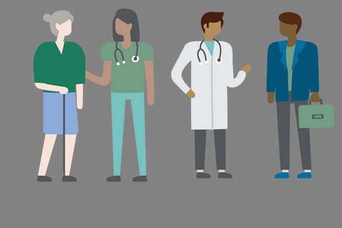 doctors and patients to show Addressing the wellbeing of doctors - new report from GMC