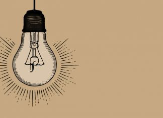 Pharmafield logo in lightbulb: Pf Power List 2019