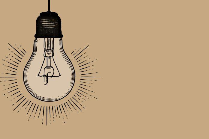 Pharmafield logo in lightbulb: Pf Power List 2019