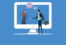 Shaking hands: digital engagement is essential