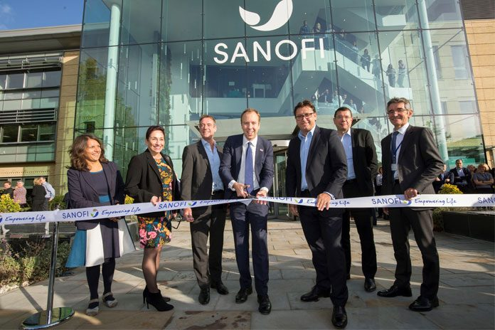 Health Secretary Matt Hancock has officially opened Sanofi's new UK headquarters at Four 10, Thames Valley Park (TVP) in Reading, Berkshire.