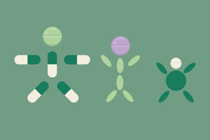 People made of tablets: face of community pharmacy