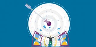 Image of target with an arrow in the bullseye to show Unpredictable times in pharma call for flexibility