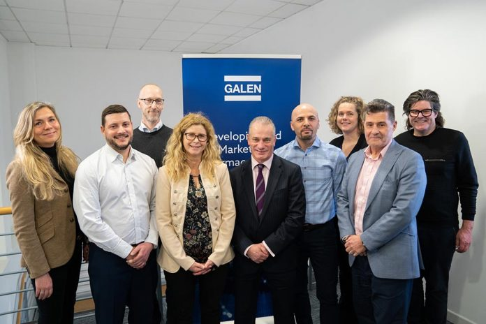 photo of the Galen team to show Galen completes POA Pharma acquisition