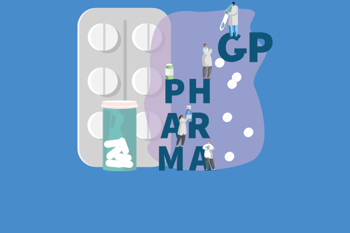 Image of drugs and words GP and Pharmacy NPA responds to NICE's community pharmacies: promoting health and wellbeing consultation