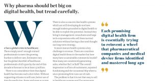 Image of the article The challenges of digital health - pharma and heath working together in Pf Magazine