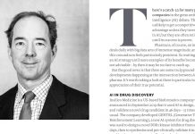 Image of Pf Magazine article asking should pharma companies be building their AI capabilities?