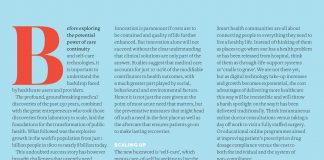 Image pf the Pf Magazine article on using big data for smart health communities