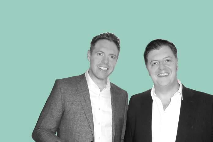 Image of Chris and Andy Anderson to show Evolving to meet pharma's recruitment needs