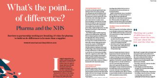 Image of article What's the point…of difference? Partnership working pharma and the NHS