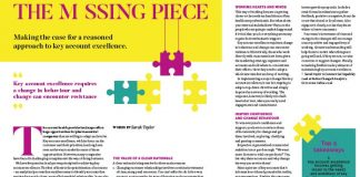 Image of the article The missing piece: a reasoned approach to key account excellence