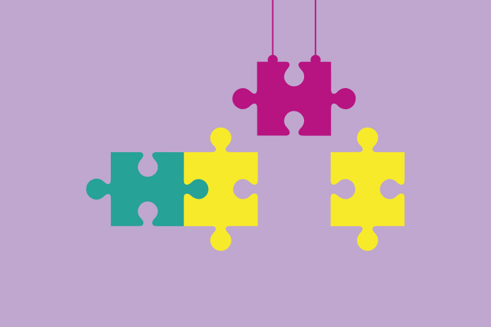 Image of jigsaw pieces to show the missing piece: a reasoned approach to key account excellence