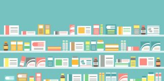 Image of pharmacy shelves to shw Cegedim launches free pharmacist training during COVID-19