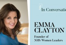 Image of Emma Clayton for Pf In Conversation with Emma Clayton on women leaders in health