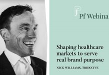 Image of Nick Williams for his webinar shaping healthcare markets