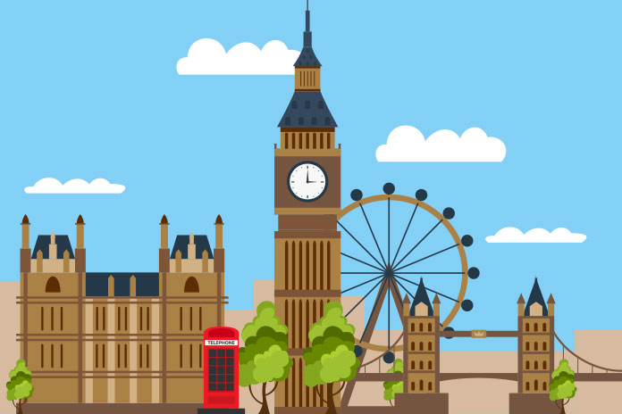 Image of the palace of Westminster, Elizabeth tower, london bridge, and the London Eye to show 'What's past is prologue' Is Government planning seismic change in the NHS?
