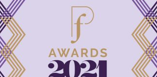 Pf Awards 2021 virtual logo to show Pf Awards 2021 are open for entries